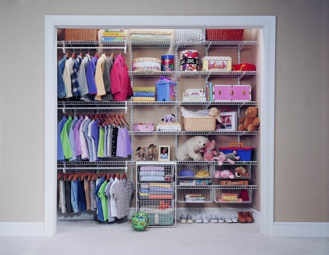 Kid s closets everything closets for Kids room closet ideas
